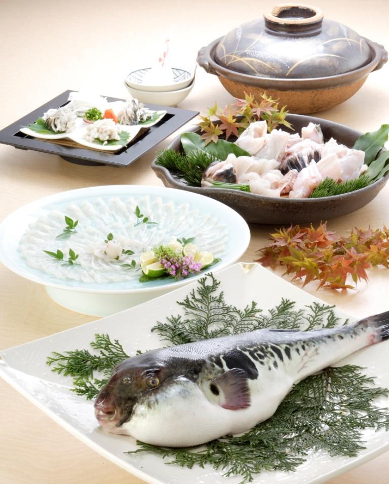 12月~2月冬季限定 「河豚鍋コース」