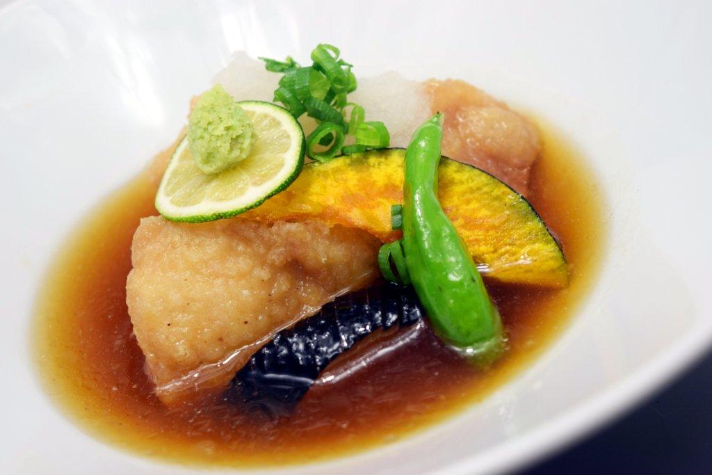 新メニュー『今月の洋食』 鶏のみぞれ煮 ソレイユ風