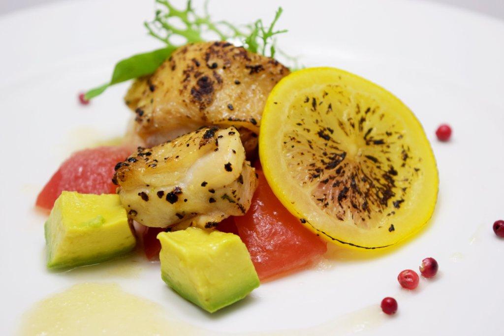 『今月の洋食』 チキンとレモンのロースト ハニードレッシング