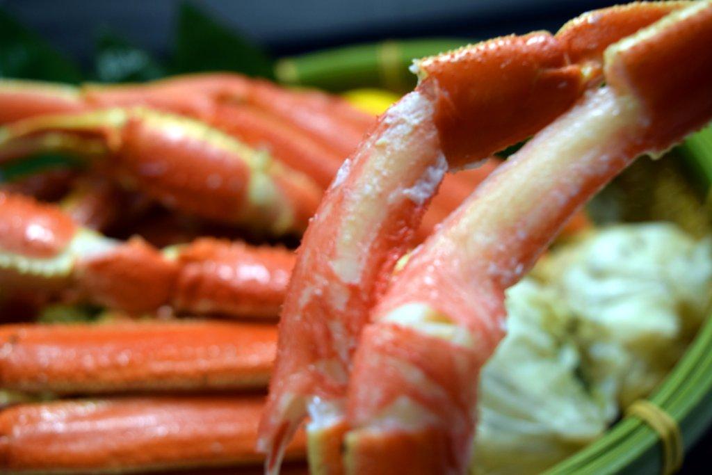 ディナー限定「蟹バイキング」開催